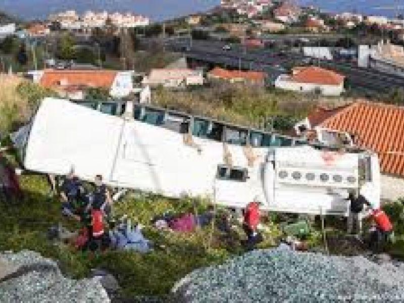 Acidente provoca a morte de 28 turistas alemães em Portugal
