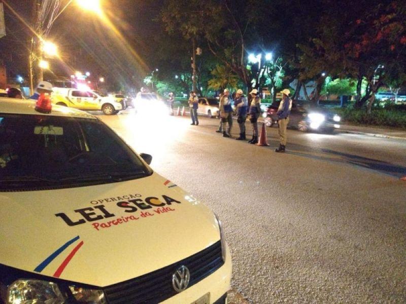 Lei Seca: mais de mil veículos foram abordados durante a Semana Santa