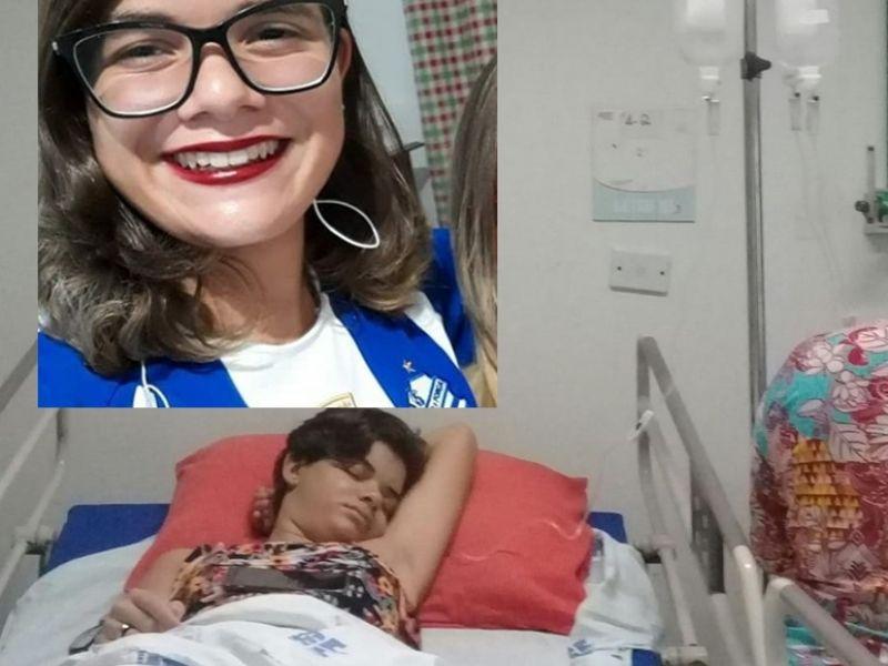 Penedense de 14 anos precisa de ajuda após doença que paralisou suas pernas