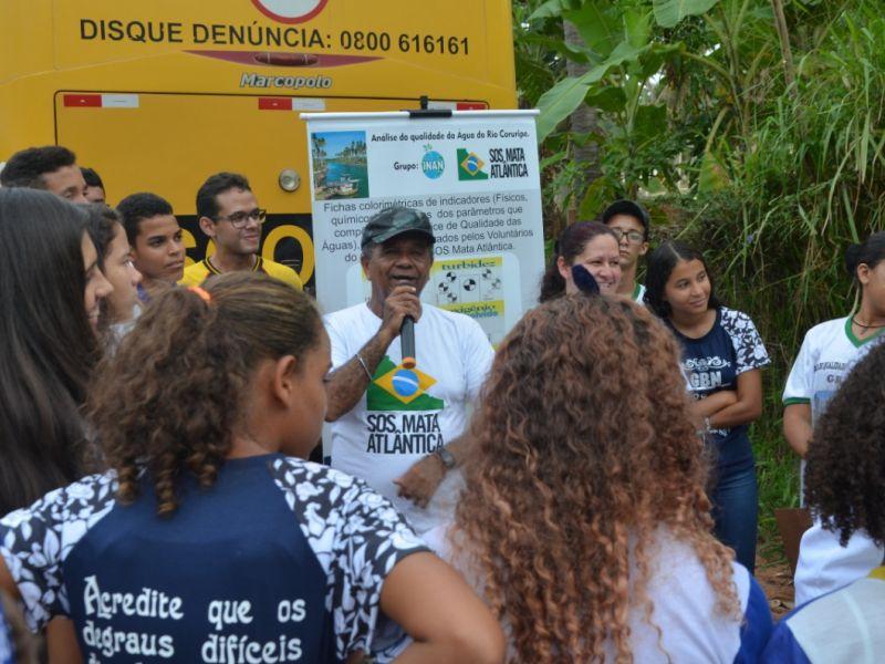 Estudantes avaliam e monitoram qualidade da água em Coruripe
