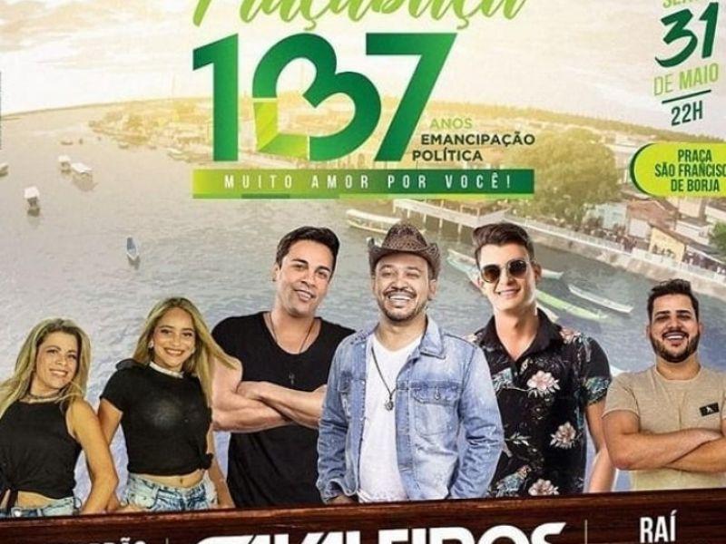 Prefeitura divulga programação oficial da festa de emancipação política de Piaçabuçu