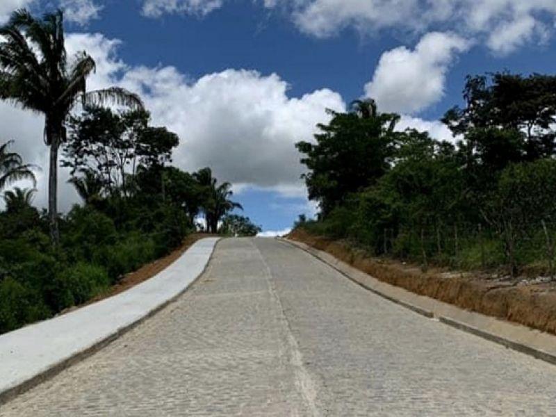 Pró-Estrada: Acesso à Serra da Barriga está 97% pavimentado