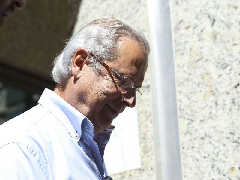 Dirceu se apresenta à PF em Curitiba para cumprir pena na Lava Jato
