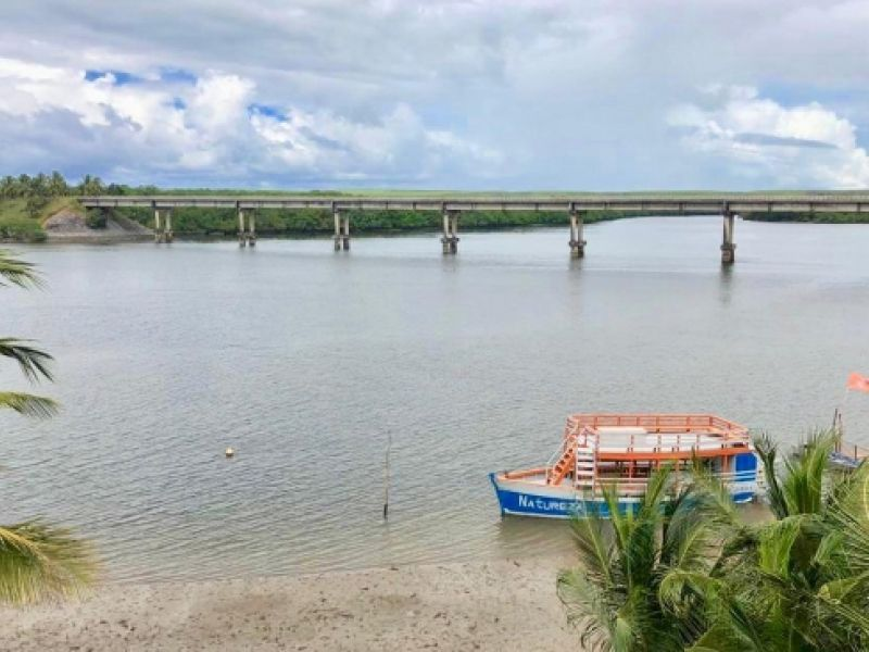 Renan Filho assina ordem de serviço para recuperar a ponte do Gunga nesta segunda (20)
