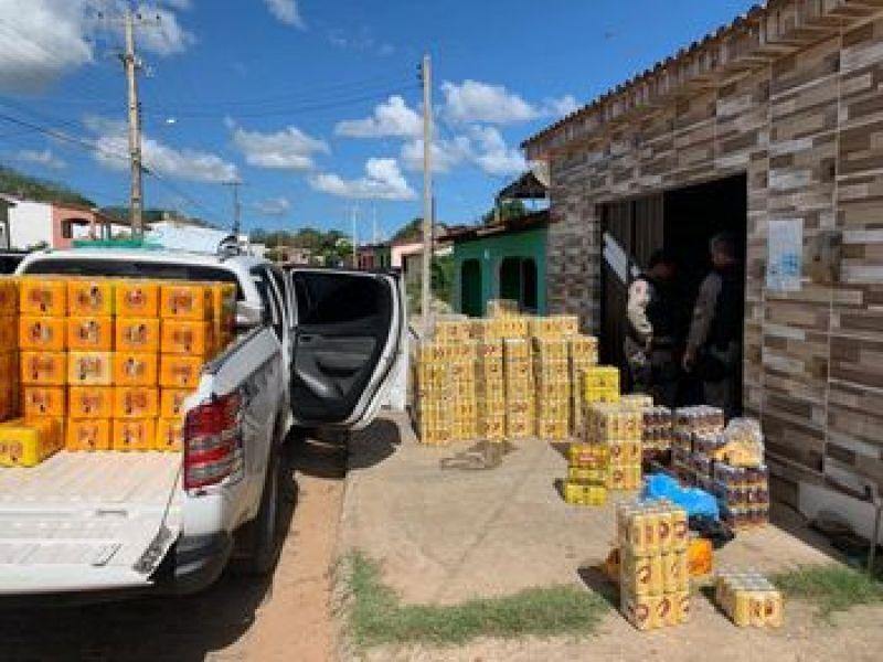 Centenas de bebidas alcoólicas fora do prazo de validade são apreendidas em Igreja Nova