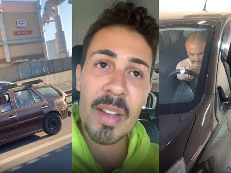 Carlinhos Maia surpreende e dá um carro novo para homem que encontrou na estrada