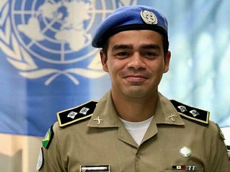 Pela segunda vez, oficial da PMAL é agraciado com medalha da ONU