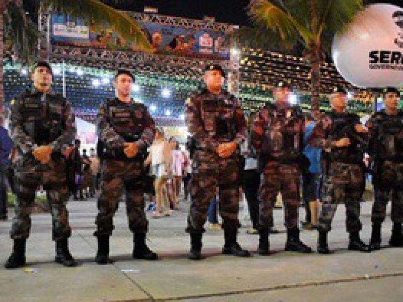 Polícia Militar garante a segurança de sergipanos e turistas no Arraiá do Povo 2019
