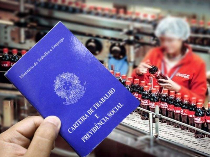 Fabricante da Coca-Cola realiza processo seletivo com vagas para municípios alagoanos