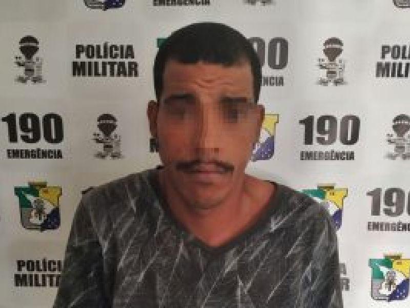 Jovem com mandado de prisão em aberto é preso na zona rural de Neópolis
