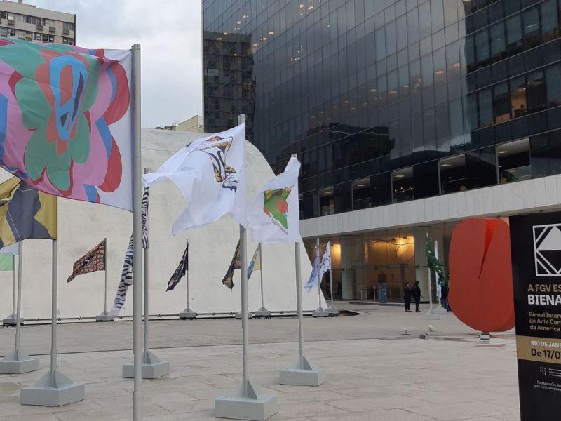 Fundação Getúlio Vargas expõe trabalho da 2ª Bienalsur