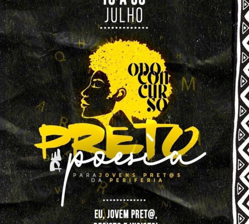 Xirê com Poesia incentiva participação no Odo-concurso Preto de Poesia para Jovens da Periferia