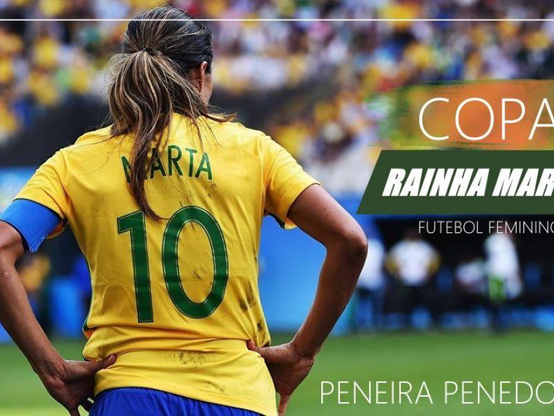 Peneira para Copa Rainha Marta de Futebol acontece na próxima semana em Penedo