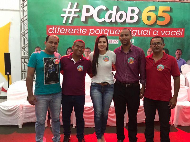 Comissão do PC do B de Penedo marca presença no lançamento da campanha nacional de filiação