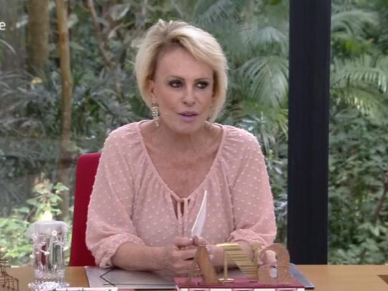 Ana Maria Braga sofre com pane ao vivo e Globo noticia triste acontecimento