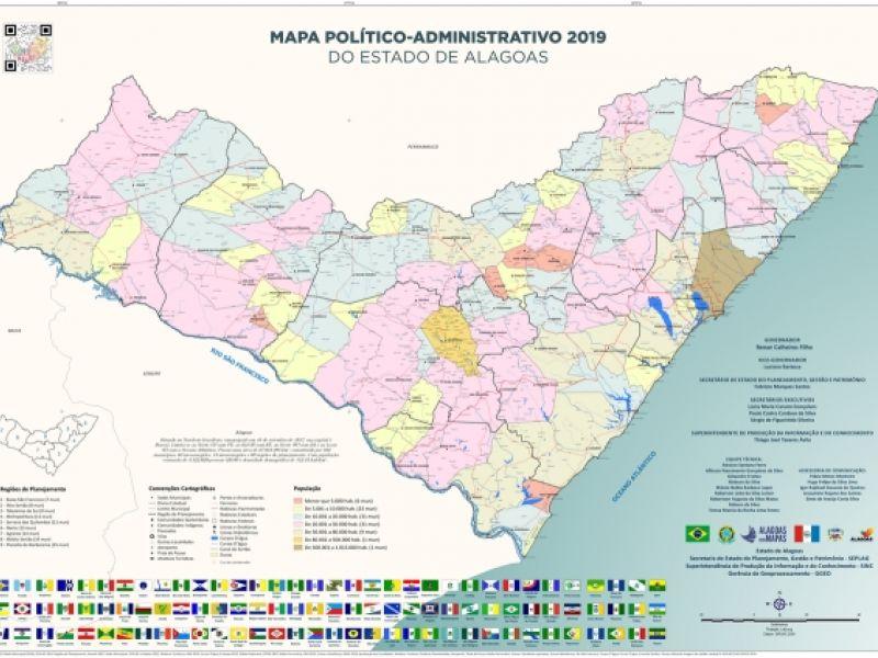 Nos 202 anos de AL, Governo lança coleção inédita de mapas do estado e dos municípios