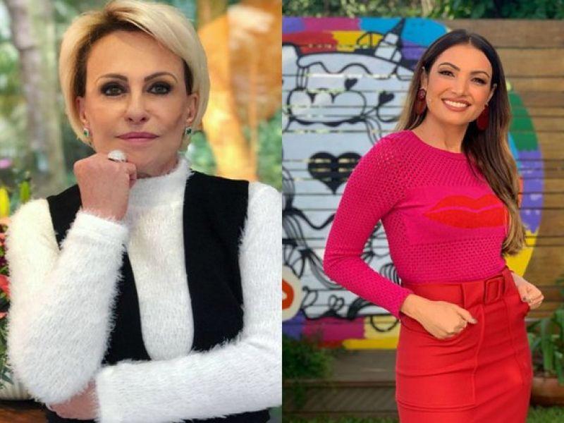 """Patrícia Poeta, substituindo Ana Maria Braga no Mais Você, surpreende e imita a apresentadora: """"Cobrança muito grande"""""""