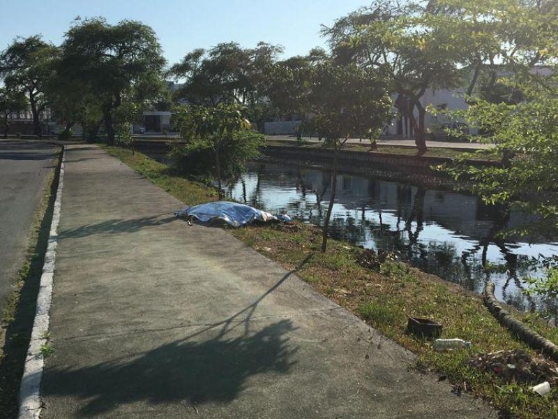 Corpo é encontrado boiando no Riacho Salgadinho, em Maceió