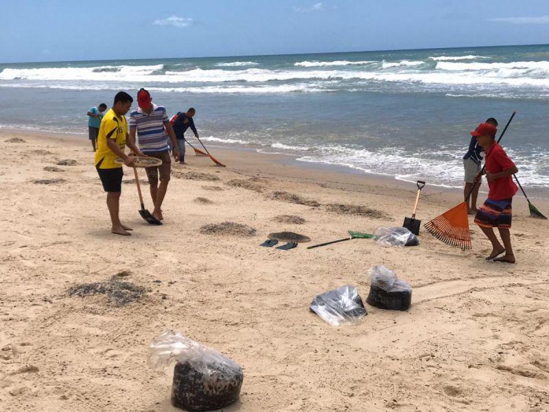 Grupo técnico realiza limpeza e monitoramento da praia do Peba na próxima quinta, 17