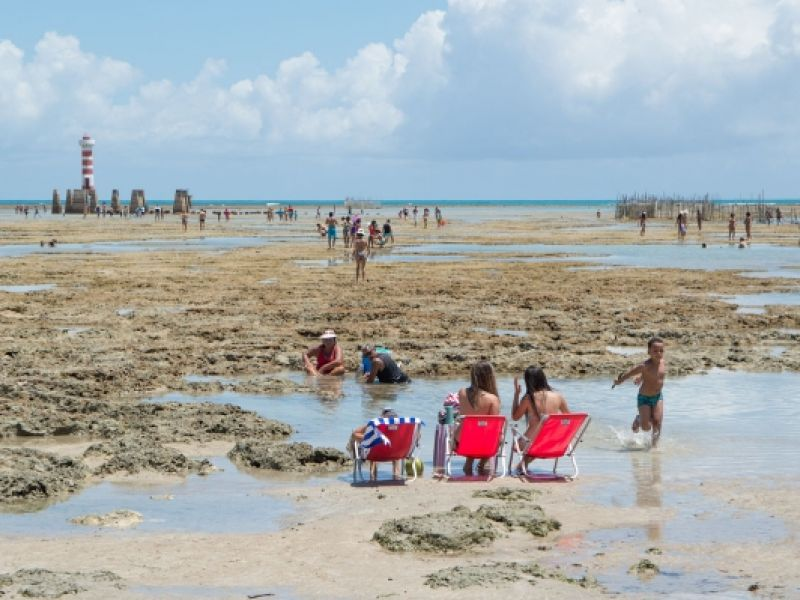 Relatório do IMA conclui que praias turísticas de Alagoas estão próprias para banho