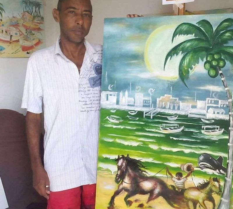 Artista plástico Wendel Silva, de Piaçabuçu, morre vítima de grave problema de saúde