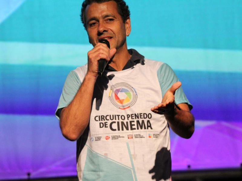Marcos Palmeira, Mônica e Cebolinha roubam a cena na abertura do Circuito de Cinema