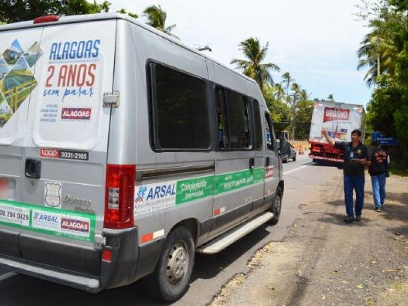 Motoristas de vans paralisam serviço nesta quarta (27) em Alagoas
