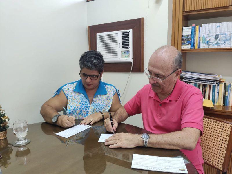 Sandra Alves entra para o MDB para disputar vaga na Câmara de Vereadores de Penedo