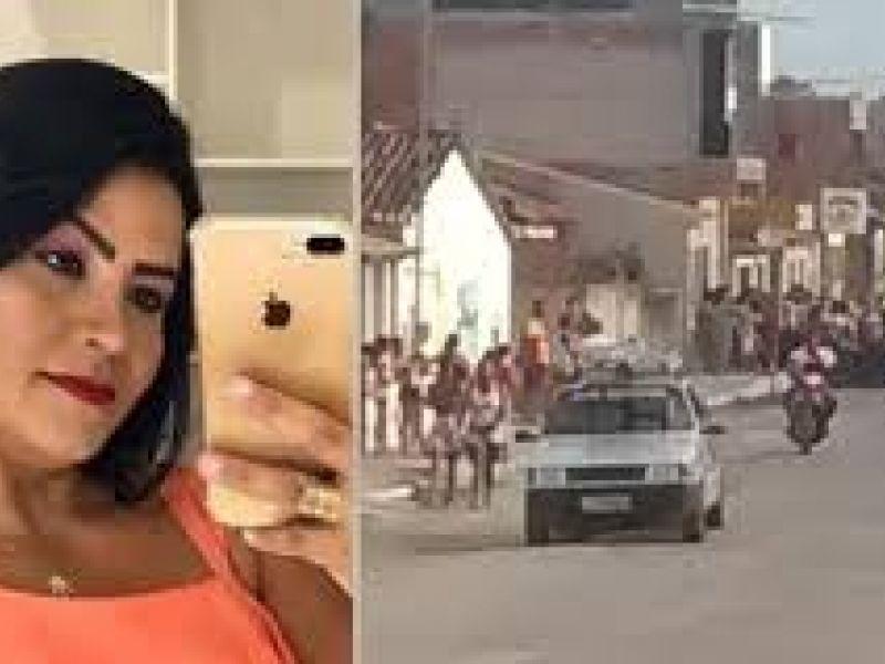 Mulher é morta a tiros em frente a academia no Parque dos Faróis