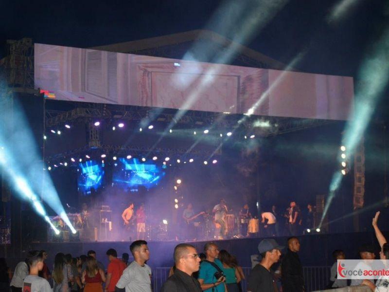 Multidão comparece a abertura dos festejos alusivos ao Bom Jesus