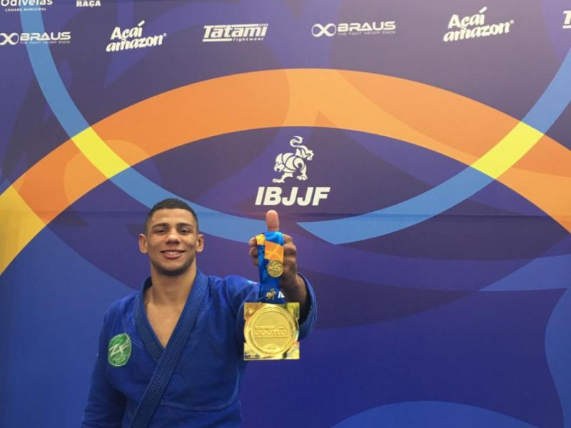 Em Portugal, alagoano se consagra campeão europeu de jiu-jitsu