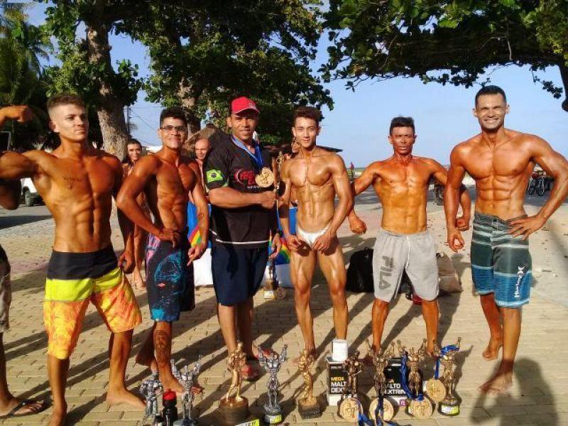 Penedenses vencem campeonato de fisiculturismo de Paripueira