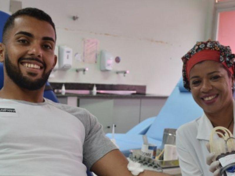 Hemose precisa de voluntários para doação de sangue Rh negativo