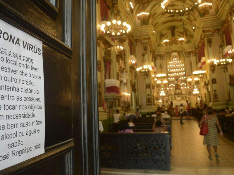 Entidades religiosas reforçam necessidade do isolamento social