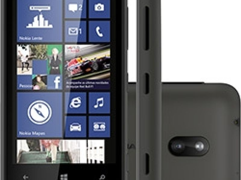 "Nokia Lumia 620 Smartphone Desbloqueado - Tela 3.8"" Windows Phone 8"