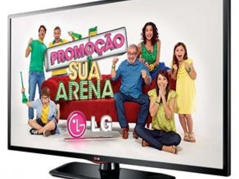 "TV 39"" LED Full HD LG, USB DivX HD, Entradas HDMI e USB"